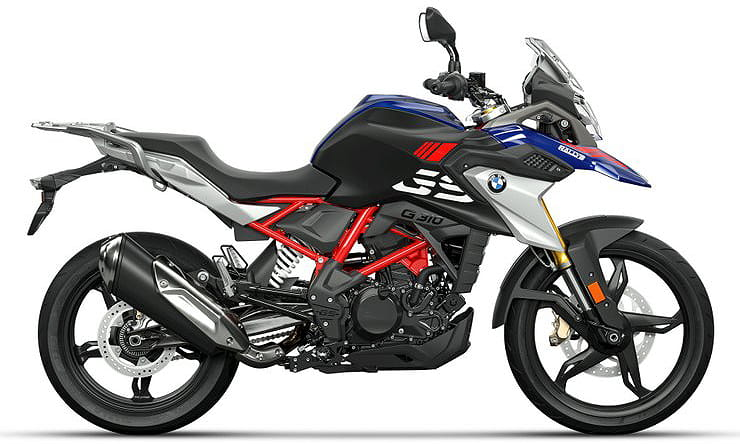 BMW G310GS receives Euro5 compliant engine, LED lights, upgraded electronics and new colour schemes in 2021 model overhaul.