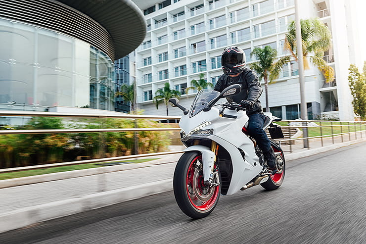 Billed as a sportsbike for those who want something more chilled-out than the full-on Panigale, the SuperSport and SuperSport S arrived in 2017.