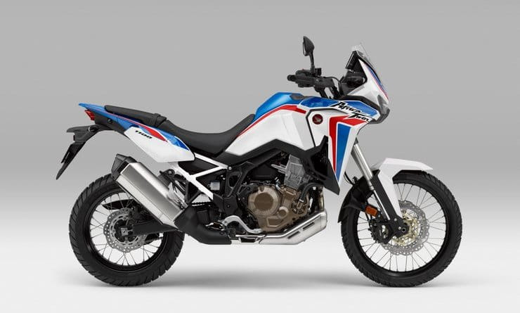 Honda's Africa Twin gets colour changes for 2021 plus new finance deals with payments starting as low as £28 per month
