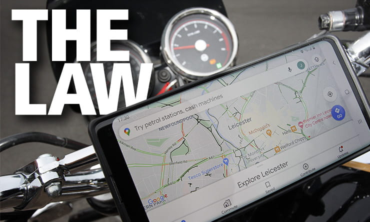 Mobile phone use motorcycle car law uk_THUMB