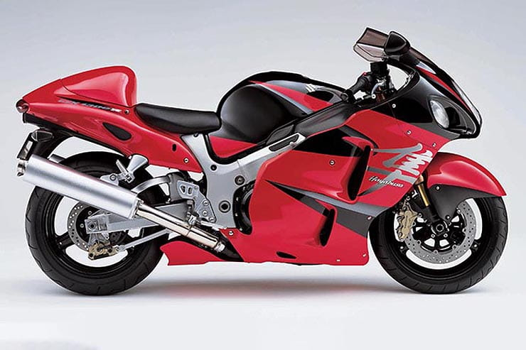Analysis of the first generation of Suzuki's ballistic,  game-changer Hayabusa hyperbike. All the facts, figures, stats and advice you need to buy the best bike you can.