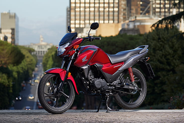 Honda's learner favourite, the CB125F, is revamped for 2021