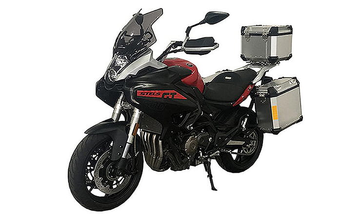 New 650 capacity for Benelli's four-cylinder engine was announced last week