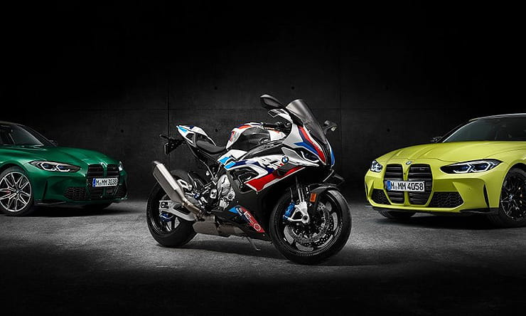 BMW's first 'M' bike – the M1000RR – is a 209bhp, 192kg street-legal WSB machine