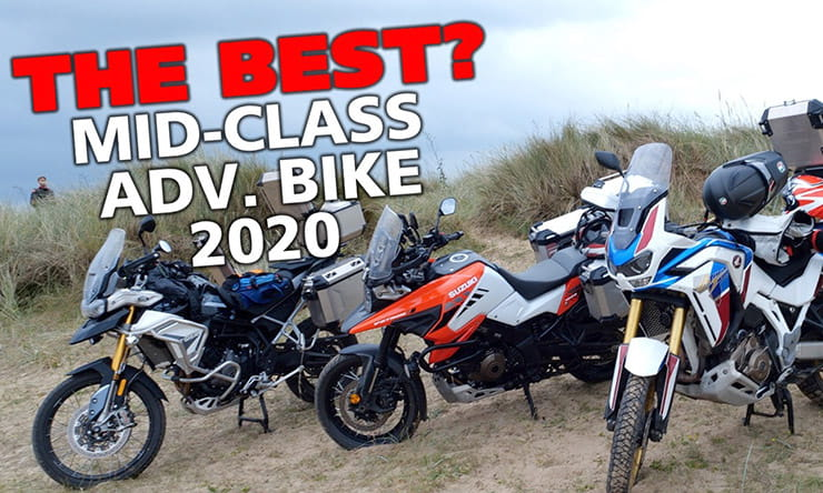 The three new 2020 'mid-range' adventure bikes from Honda, Triumph and Suzuki go head-to-head, on and off-road. We also look at their rivals.