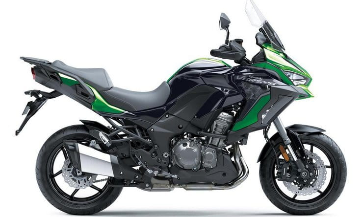 Next year's Kawasaki Versys 1000 SE gets new 'Skyhook' electronic suspension