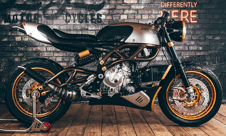 Langen Motorcycles shows two-strokes are still kicking with 114kg, 75hp 250, we talk to Founder, Chris Ratcliffe