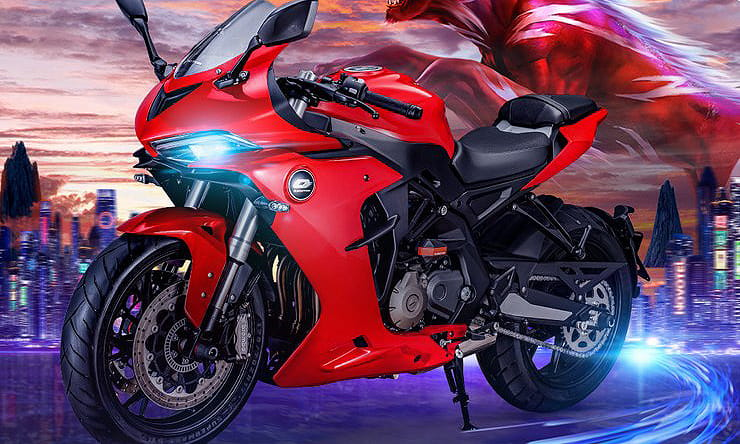 Benelli's sister firm QJMotor is only months old but now has a full range of bikes