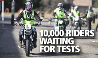 Huge covid motorcycle test backlog_Thumb