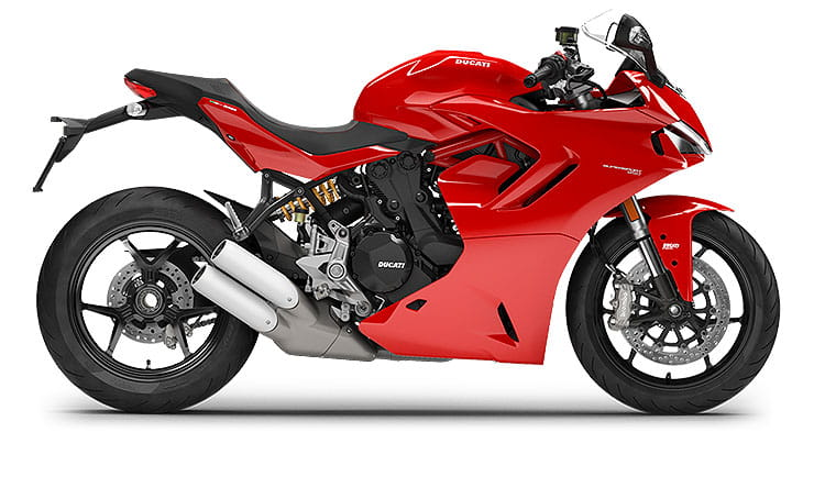 Ducati Supersport 950 in Rosso Red