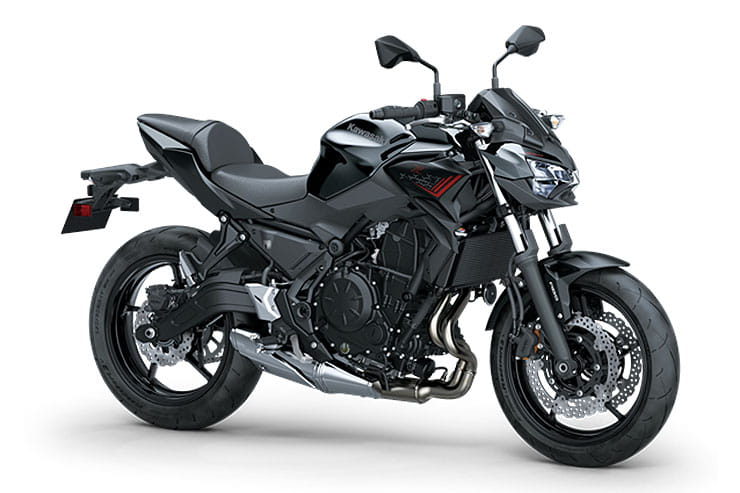 2021 Kawasaki Z650 Black Red