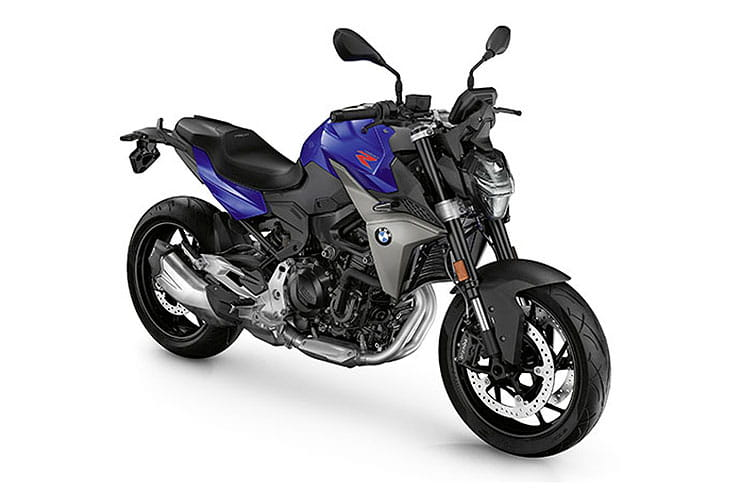 2021 BMW F900R Blurple