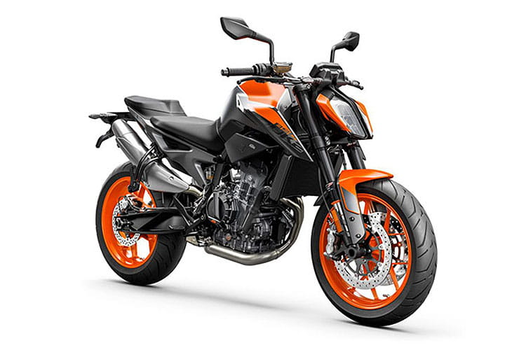 2021 KTM Duke 890 Orange Black