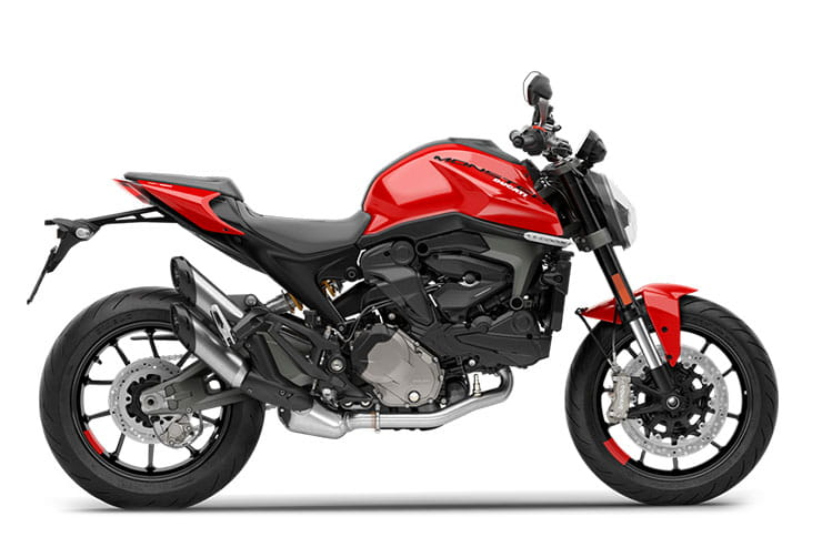 2021 Ducati Monster Rosso Red