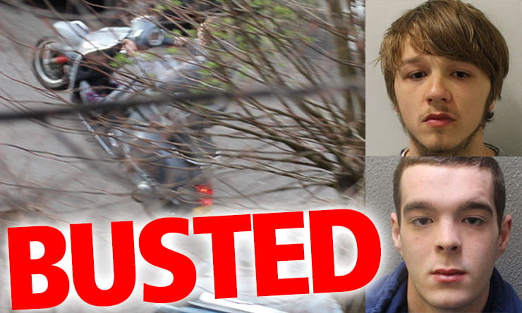 Bike thieves arrested_THUMB