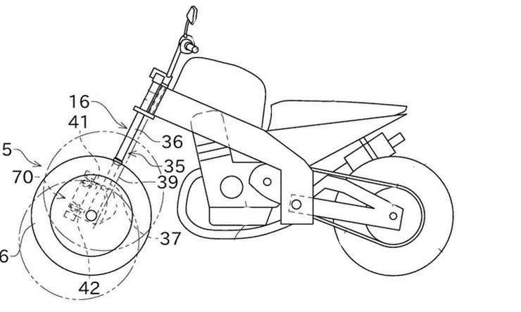 Kawasaki tilting three wheeler (3)