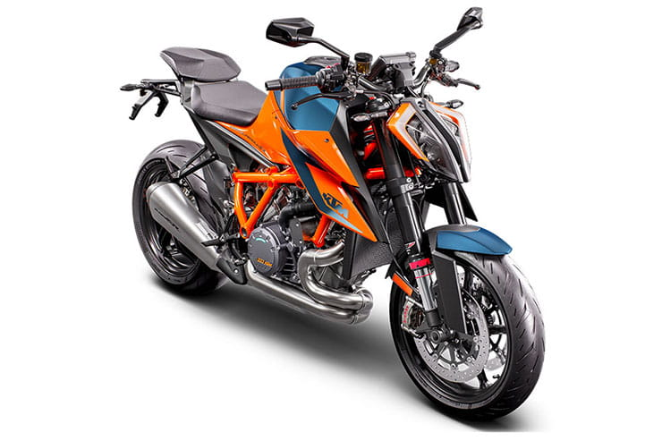 2021 KTM 1290 Super Duke R Beast III Naked Orange