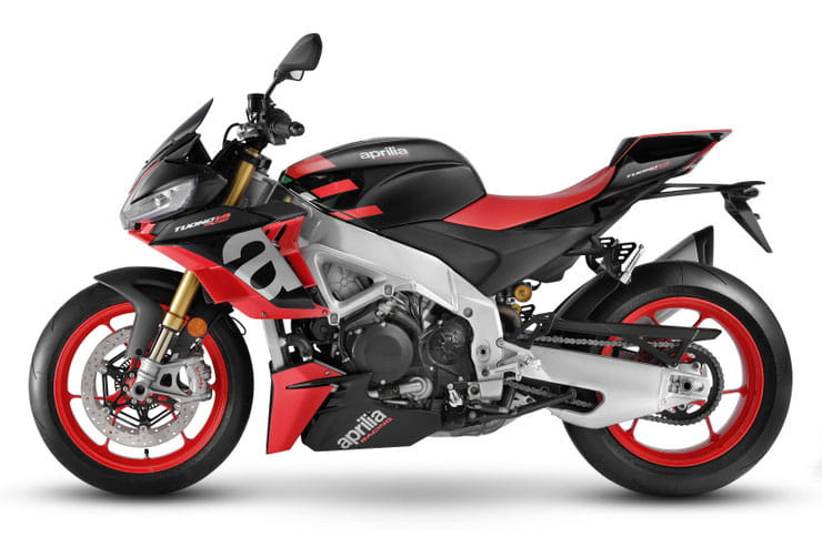 2021 Aprilia Tuono V4 1100 Factory Black Red