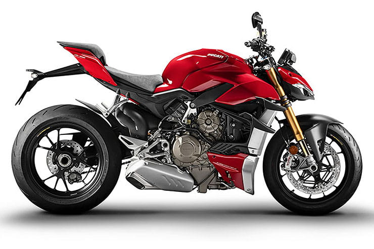 2021 Ducati Streefighter V4 S Rosso Red