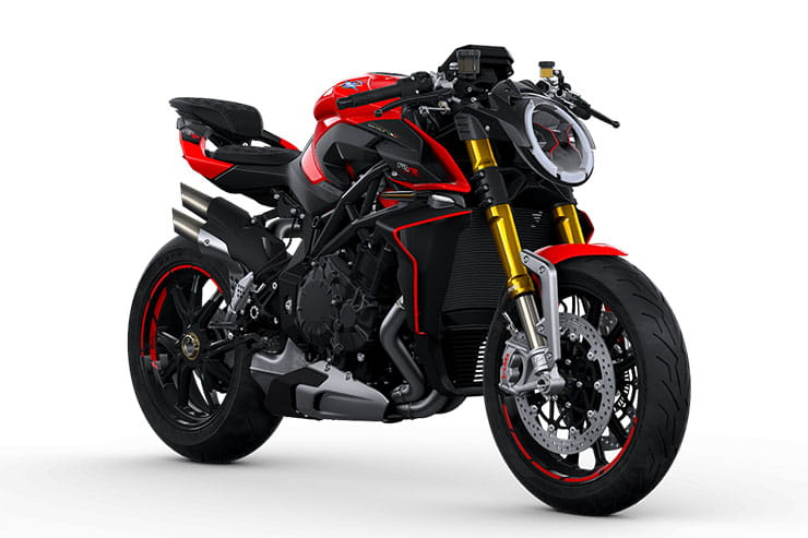 2021 MV Agusta Brutale 1000RR Black & Red
