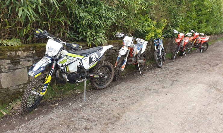 police seize off road motorcycles crime_01