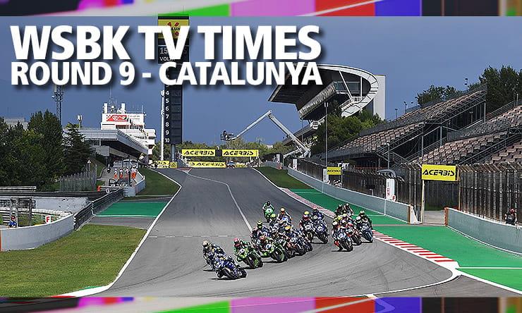 WSBK on the TV – Round 9: Catalunya, SPA