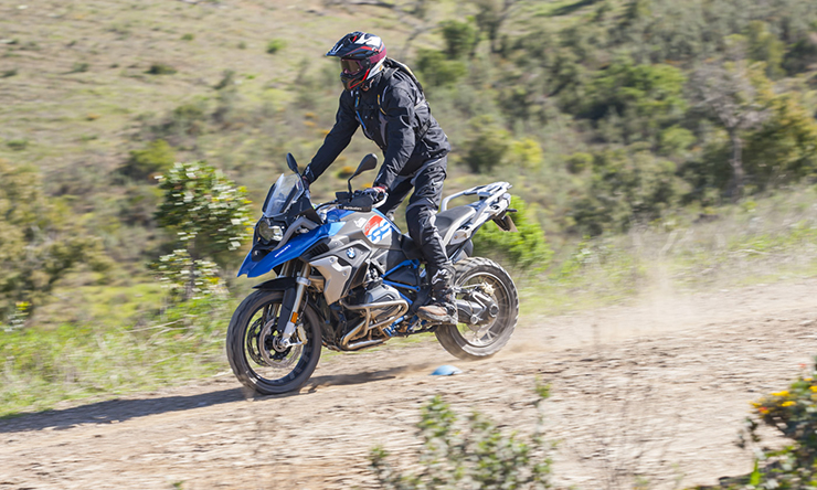 Marc Potter goes off-roading on the highly capable new 2017 GS