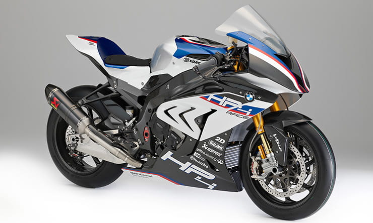 Full details of the BMW HP4 RACE revealed