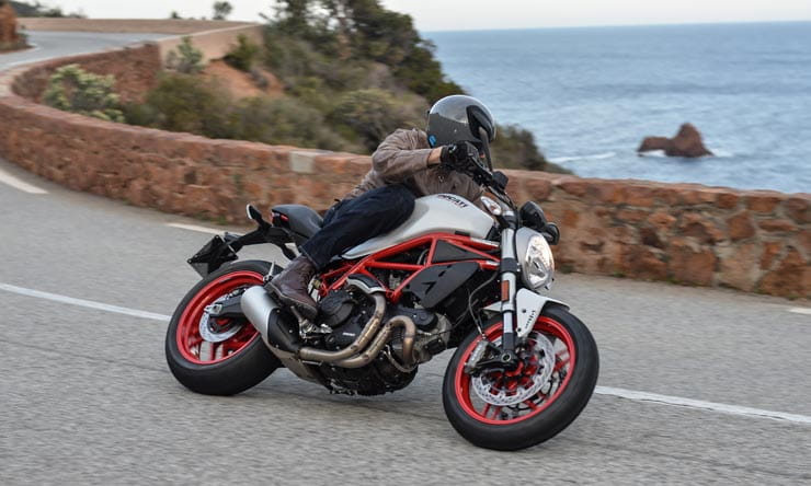 Awe Inspiring Ducati Monster 797 2017 First Ride And Review Onthecornerstone Fun Painted Chair Ideas Images Onthecornerstoneorg
