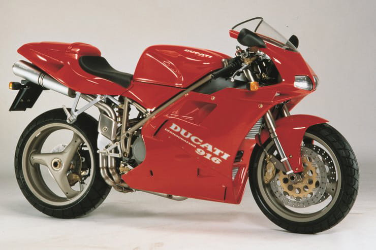 25 years of the Ducati 916