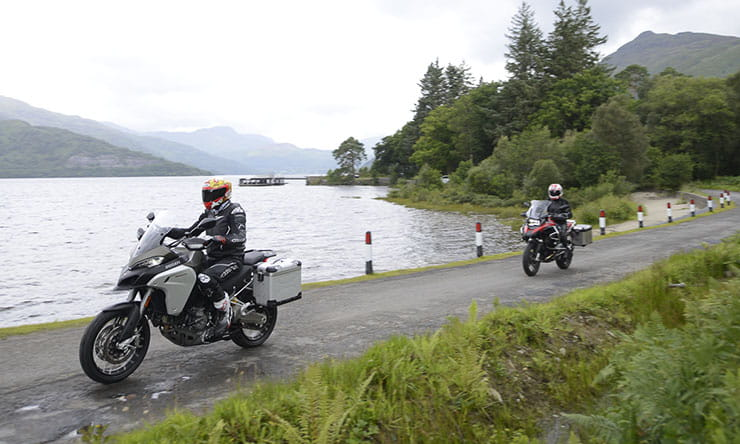 Triumph Tiger Explorer - KTM - BMW R1200GS - Multistrada Enduro