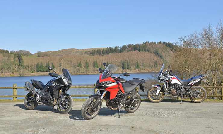 Ready for a Welsh adventure with Ducati