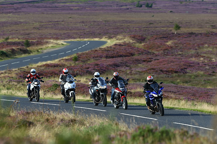 Five 2016 sportstourers take on the North Yorkshire Moors