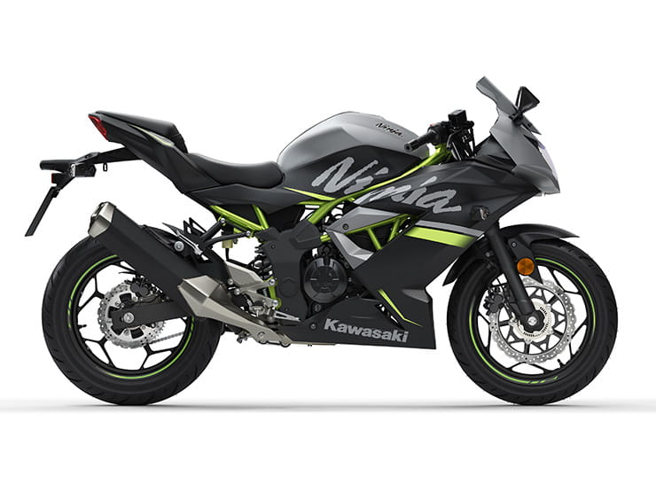 Kawasaki Ninja 125_colour option