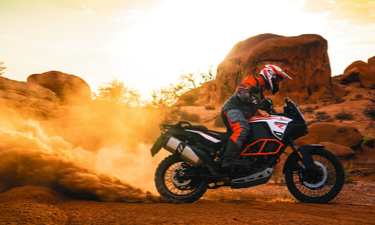KTM 1290 Super Adventure R in action