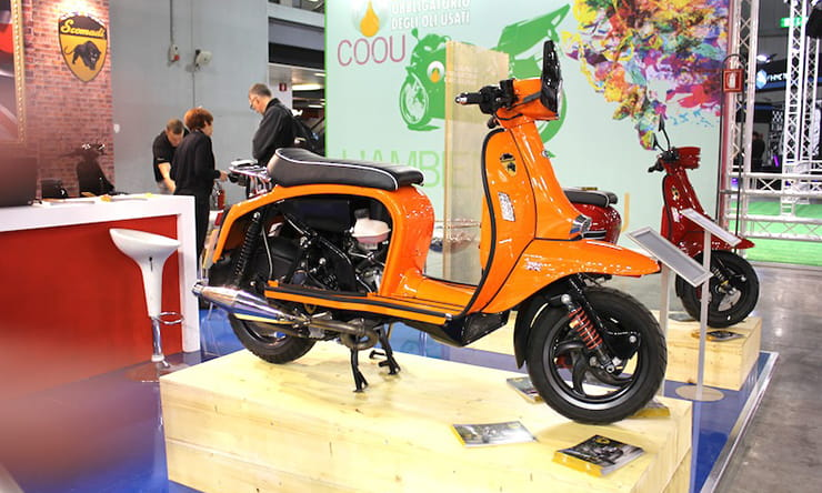 Scomadi 400, unveiled at the 2016 Milan Motorcycle Show