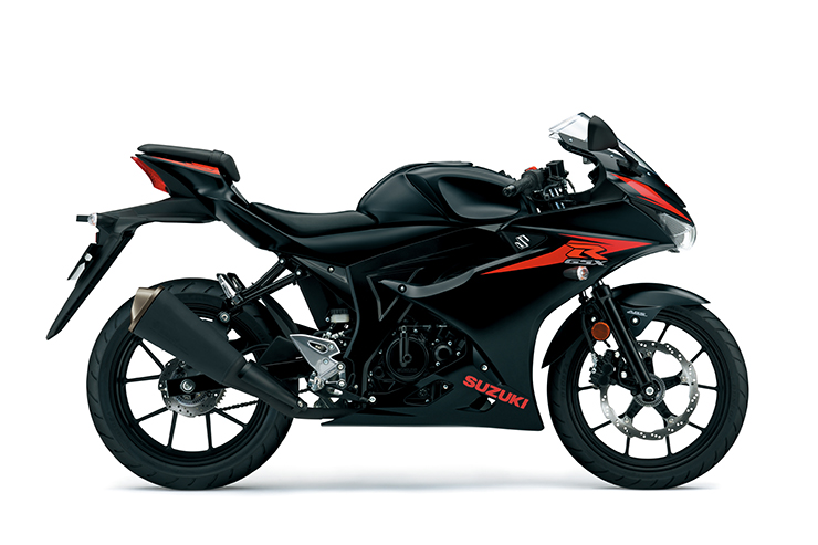 GSX-R125 available in Black