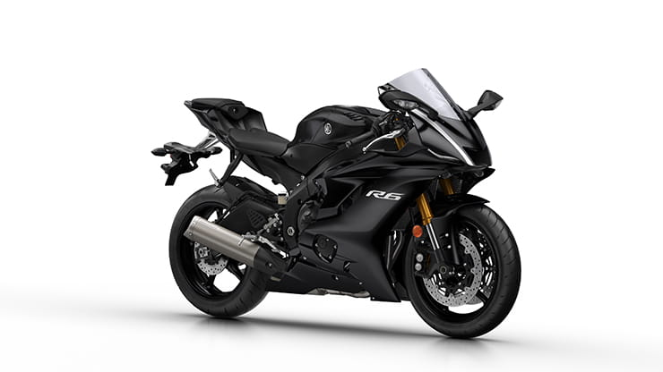 YZF-R6 available in two colours