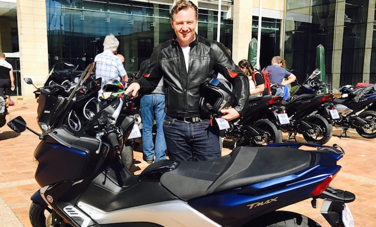 First impressions 2017 Yamaha TMAX