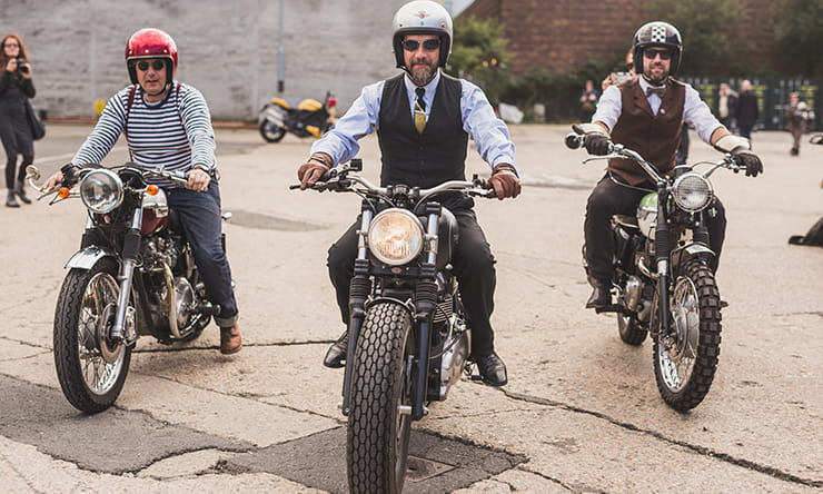 Dapper riders ready for the Distinguished Gentleman