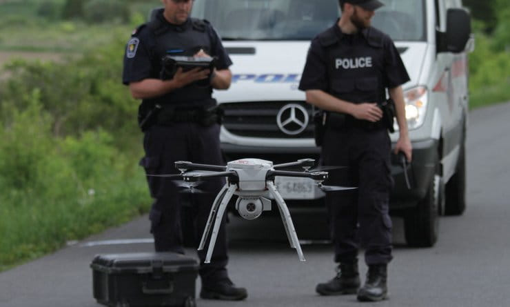 Police to use drones to catch baddies