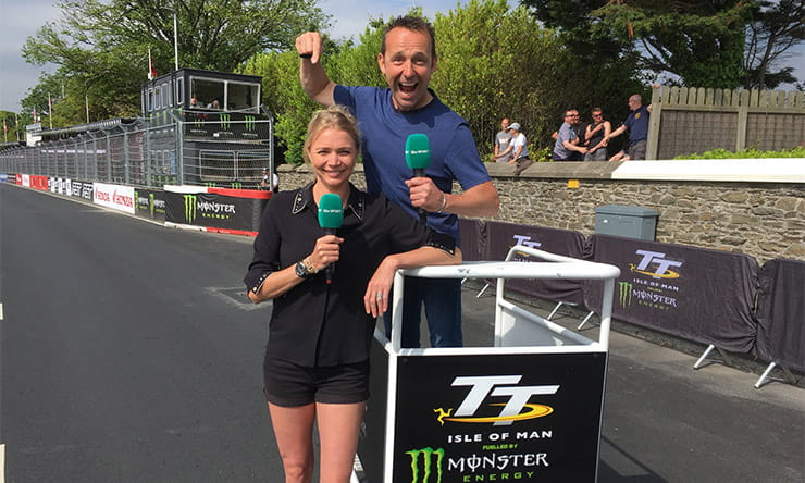 Jodie Kidd and Steve Plater