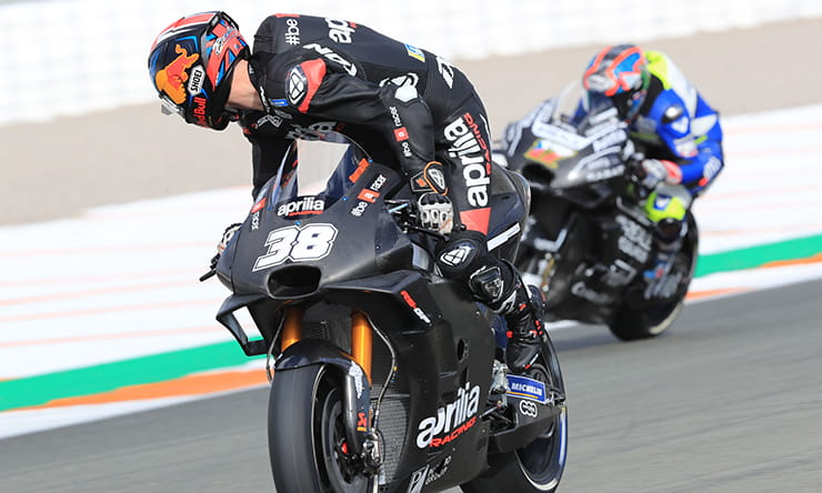 Bradley Smith Aprillia