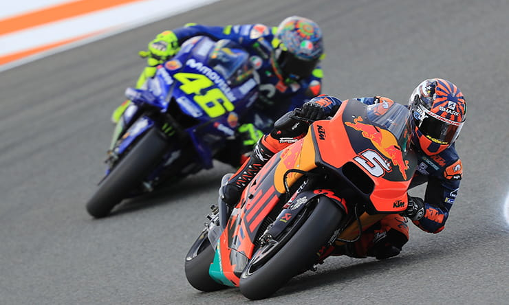 Zarco, Rossi, Valencia MotoGP tests, November 2018