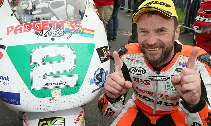 Bruce Anstey confirmed to race at 2019 Classic TT