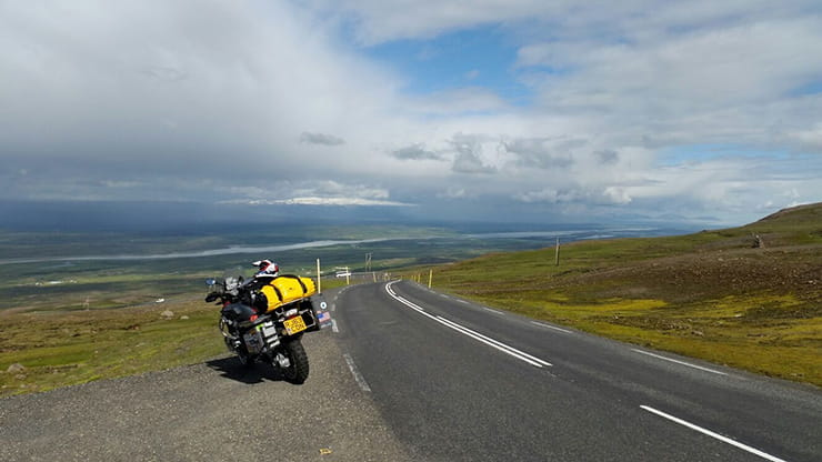 Destination Iceland BMW R1200GS