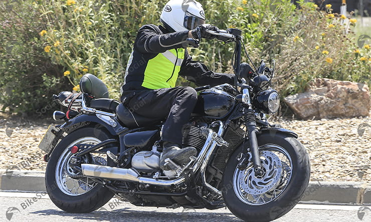 New Triumph Speedmaster set for 2018 spotted in secret testing