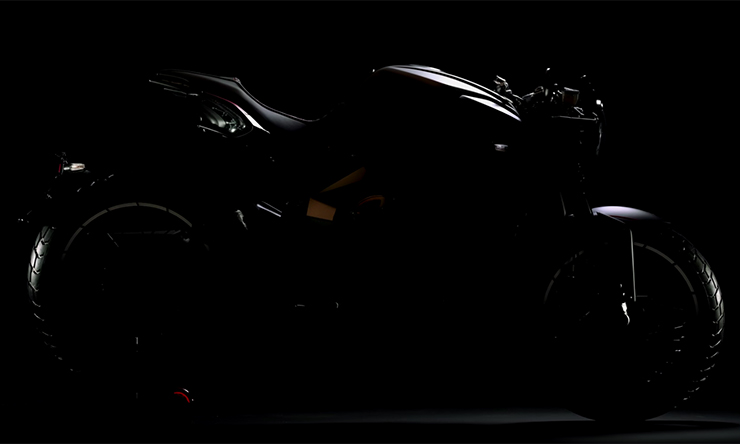 Screen grab of the new MV Agusta RVS from the YouTube teaser