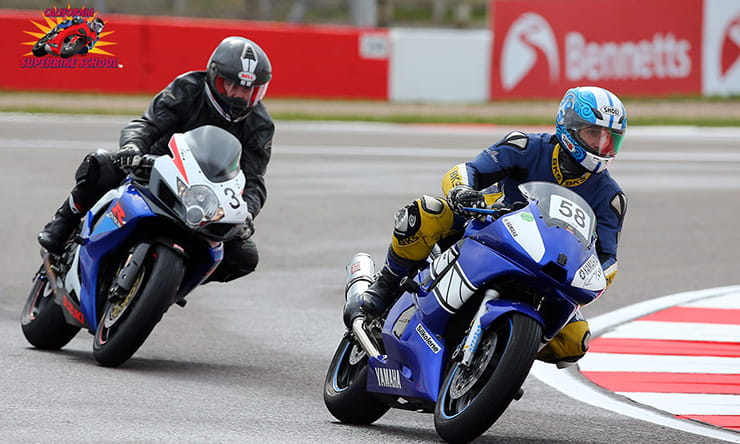 Bennetts customers enjoy a track day at Donington Park