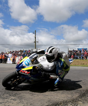 William Dunlop Isle of Man TT Supersport 600 race